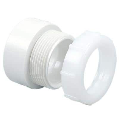 2 in. PVC DWV Trap Adapter Fitting