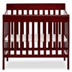 Aden 4-in-1 Cherry Convertible Mini Crib