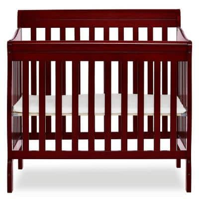 Aden 4-in-1 Cherry Convertible Mini Crib