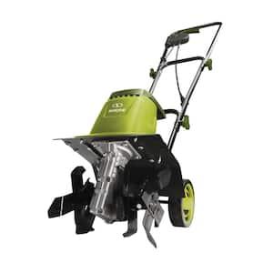 12-In 8-Amp Electric Garden Tiller/Cultivator