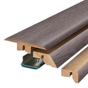 Greystone 3/4 in. T x 2-1/8 in. W x 78-3/4 in. L Laminate 4-in-1 Molding