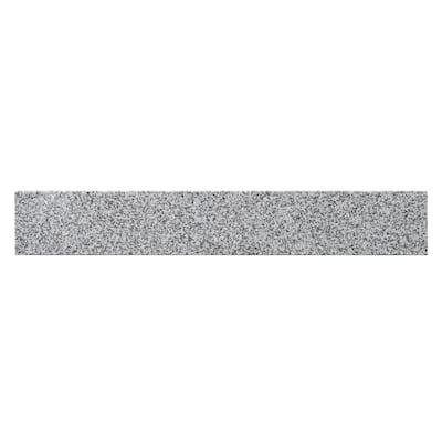 21.25 in. W Napoli Granite Vanity Top Sidesplash in Gray