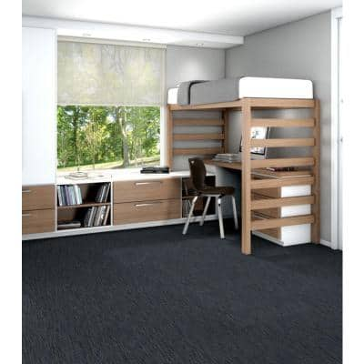 Dynamic River Loop Commercial 24 in. x 24 in. Glue Down Carpet Tile (20 Tiles/Case)