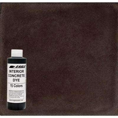 1 gal. Root Beer Interior Concrete Dye Stain Makes with Water from 8 oz. Concentrate