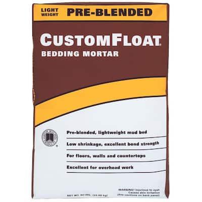 CustomFloat 50 lbs. Bedding Mortar