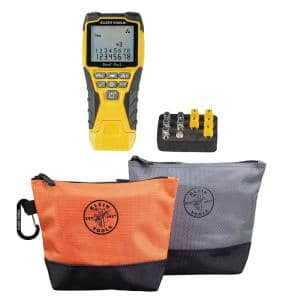 Scout Pro 3 Cable Tester Kit with Stand-Up Zipper Tool Bag Set