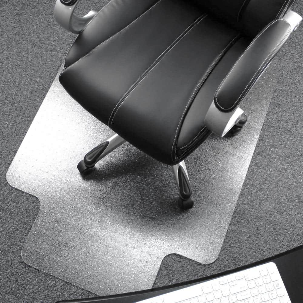 Floortex Ultimat Polycarbonate Lipped Chair Mat For Carpets Over 1 2 In 48 X 53 In Fr1113427lr The Home Depot