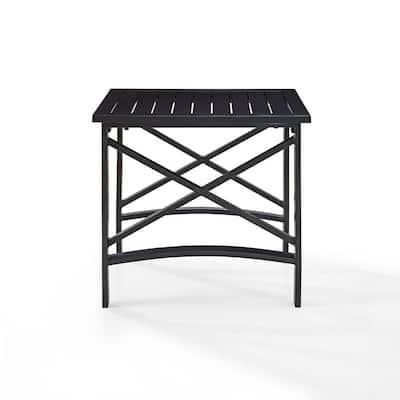 Kaplan Cast Aluminum Outdoor Side Table
