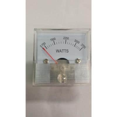 Replacement 3750W Wattage Meter for 7500W EGS Units
