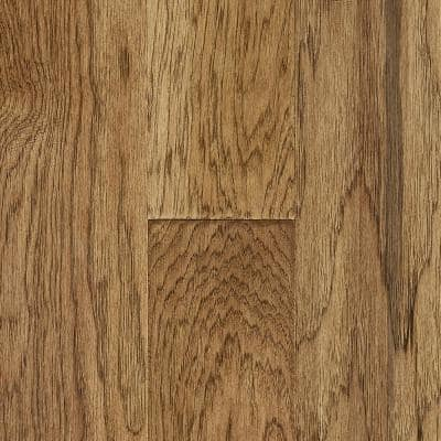 Time Honored Hickory Saddle 3/8 in. T x 6 in. W x Varying L Engineered Click Hardwood Flooring (30.63sq.ft./case)