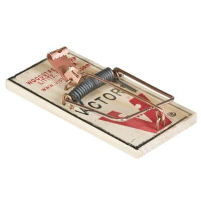 Metal Pedal Mouse Trap (4-Pack)
