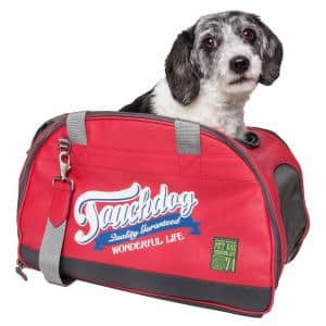 Original Wick-Guard Water Resistant Fashion Pet Carrier in Red