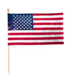 2-1/2 ft. x 4 ft. Polycotton U.S. Flag Kit