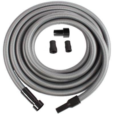 Black Cen-Tec Systems 95567 Antistatic Vacuum Hose and Adapter Set 10 Ft