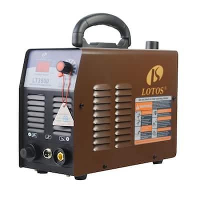 35 Amp Compact Inverter Plasma Cutter for Metal, 110V/120V Standard Wall Plug, 2/5 inch Clean Cut