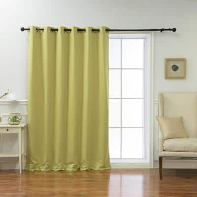 Sage Grommet Blackout Curtain - 80 in. W x 96 in. L