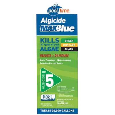 MAXBlue 32 oz. Algicide Pool Algaecide