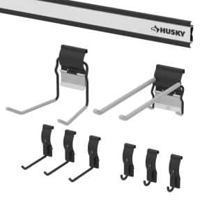 Garage Wall Track Value Pack (9-Pieces)