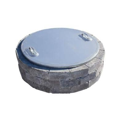 37 in. Fire Pit Cover