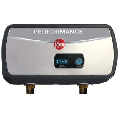 Performance 6 kW 1.0 GPM Point-Of-Use Tankless Electric Water Heater
