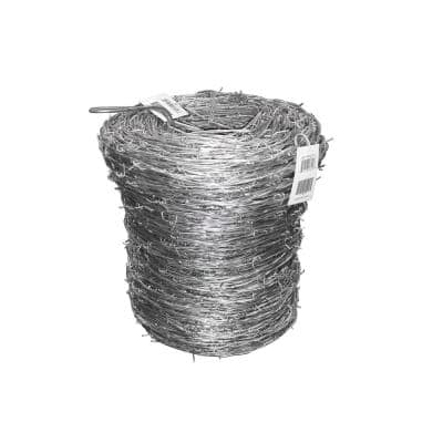 1,320 ft. 15.5-Gauge 2-Point High-Tensile Barbed Wire