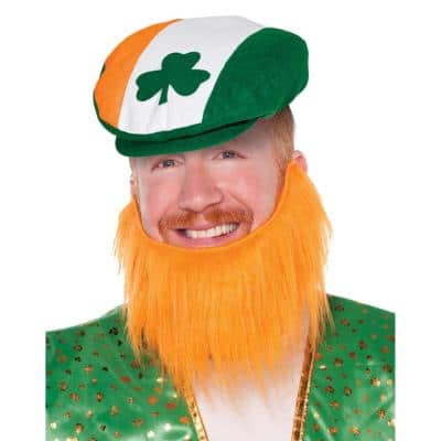 St. Patrick's Day Leprechaun Beard (4-Pack)