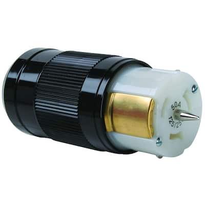 Pass & Seymour Turnlok 50 Amp 125/250-Volt California Standard Connector