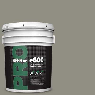 5 gal. #N370-5 Incognito Semi-Gloss Acrylic Exterior Paint