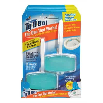 1 oz. Spring Clean Fragrance Toilet Bowl Cleaning Gel (6-Pack)