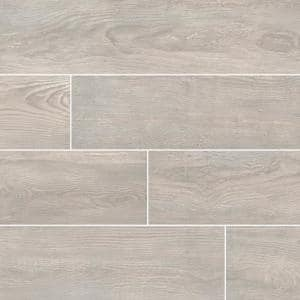 Caldera Grigia 8 in. x 47 in. Matte Porcelain Floor and Wall Tile (15.67 sq. ft./Case)