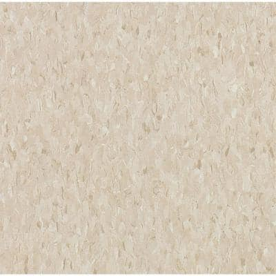Imperial Texture VCT 12 in. x 12 in. Pebble Tan Standard Excelon Vinyl Tile (45 sq. ft. / case)
