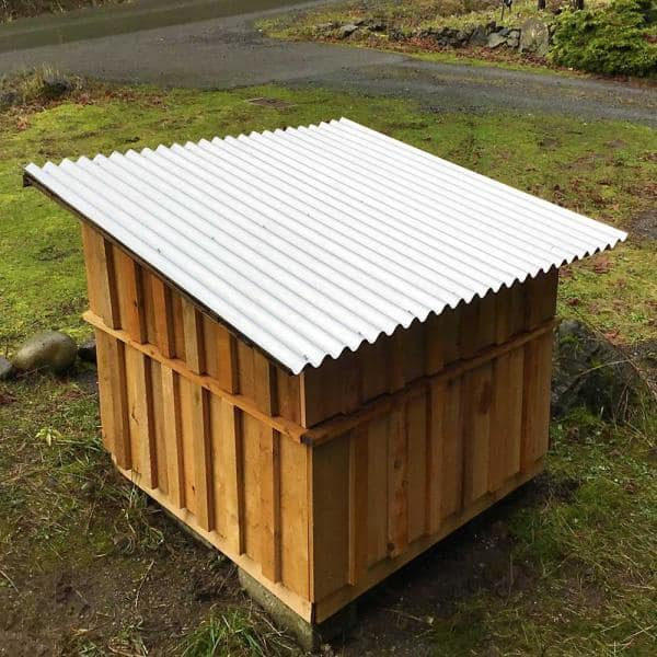 Garden Shed  Roof Sheets /& Panels Garages Stables Building Materials 12 pcs