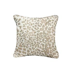 Sorra Home Sunbrella Instinct Dune Outdoor Corded Throw Pillows (2-Pack)