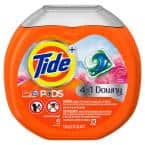 Pods with Downy 4 in 1 Laundry Detergent (43-Count)