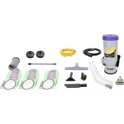 Fully Loaded Super CoachVac 10 qt. Commercial Backpack Vacuum Cleaner