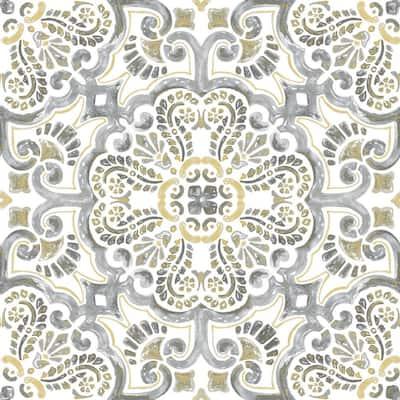 Antico Peel and Stick Floor Tiles 12 in. x 12 in. (20 Tiles, 20 sq. ft.)