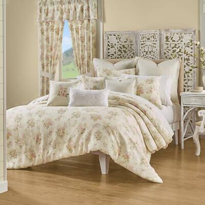 Jocelyn Yellow Full/Queen 3Pc. Comforter Set