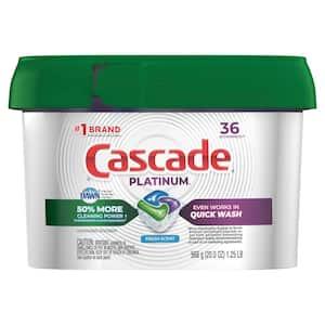 Platinum ActionPacs Fresh Scent Dishwasher Detergent with Dawn (36-Count)