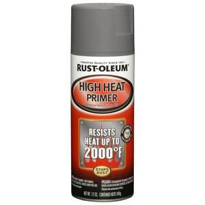 12 oz. High Heat Gray Primer Spray (6-Pack)