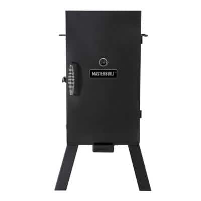 30-inch Analog Electric Smoker in Black