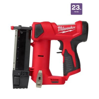 M12 12-Volt 23-Gauge Lithium-Ion Cordless Pin Nailer (Tool-Only)