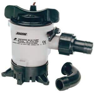 12-Volt 750 GPH Submersible Bilge Pump