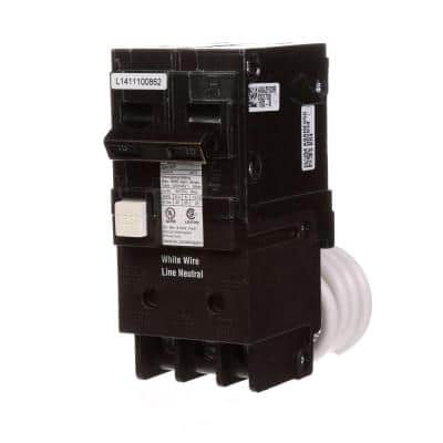 15 Amp Double Pole Type QPF2 GFCI Circuit Breaker