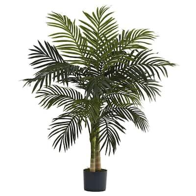 Indoor 4 ft. Golden Cane Palm Tree