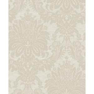 Tranquility Vogue Taupe Vinyl Strippable Roll (Covers 56 sq. ft.)