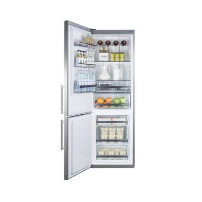 24 in. W 11.6 cu. ft. Bottom Freezer Refrigerator in Stainless Steel Counter Depth
