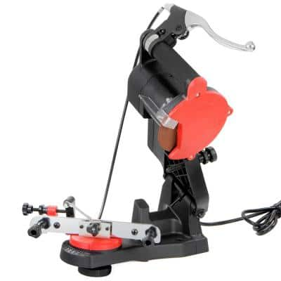 Electric Bench Mount Chainsaw Sharpener with Brake And Wheel