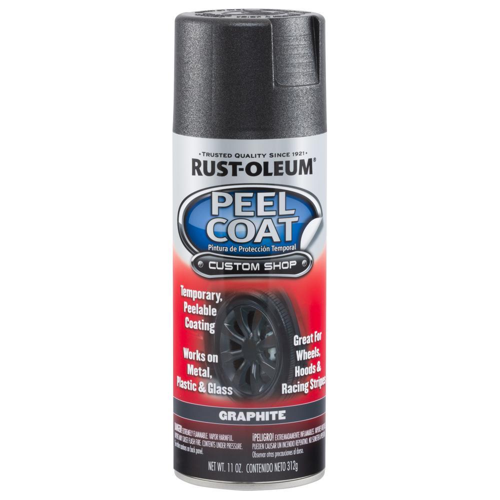 11 oz. Peel Coat Matte Graphite Rubber Coating Spray Paint (6-Pack)