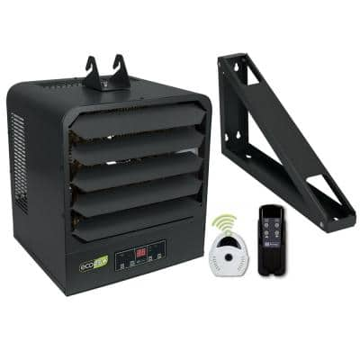 KB ECO2S+ 240-Volt 7.5 kW 1 PH Control Electronic 2-Stage Unit Heater with Remote Sensor