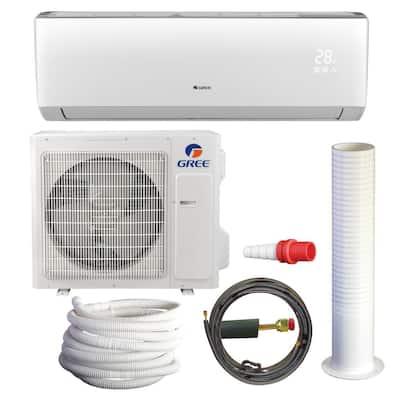 LIVO 28,000 BTU 2.5 Ton Ductless Mini Split Air Conditioner with Heat Kit - 230-208V/60Hz